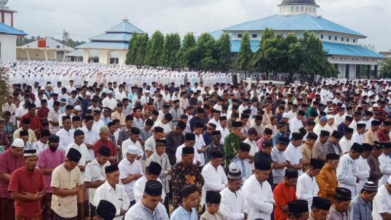Tarekat  Syattariyah di Aceh Rayakan Idul Fitri Lebih Cepat dari Pemerintah