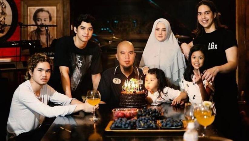 Ahmad Dhani Ulang Tahun, Ucapan Mulan Jameela: Cintaku yang Keras tapi Bisa Selembut Sutra