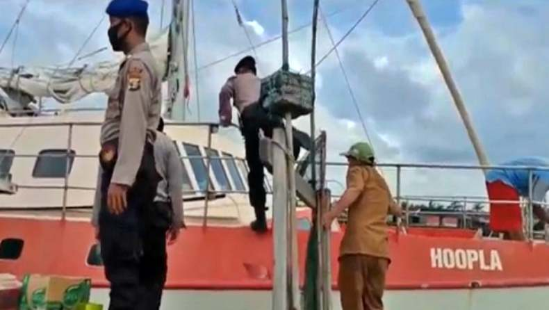 Kapal Yacht Australia Dibajak Perompak di Perairan OKI, 700 Dolar AS Raib