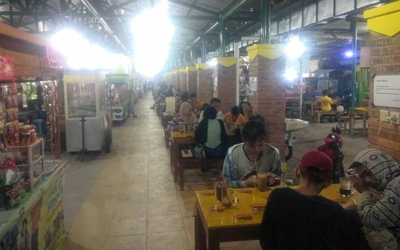 Nasib Berbeda Dialami 2 Pasar Kuliner di Bantul selama Pandemi Covid-19