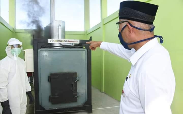 Pemkot Padang Terima Bantuan Incinerator untuk RSUD Rasyidin