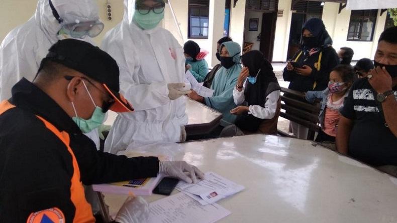 264 Pekerja Migran Pulang dari Malaysia Rapid Test di Perbatasan