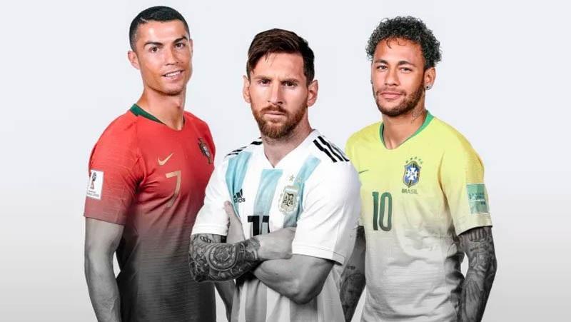 Ronaldo, Messi, Neymar, Siapa Lebih Hebat?