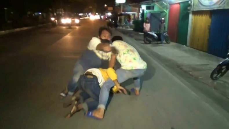 Motor Nabrak Warung, Pencuri Ponsel Modus Pengamen di Padang Ditangkap Polisi