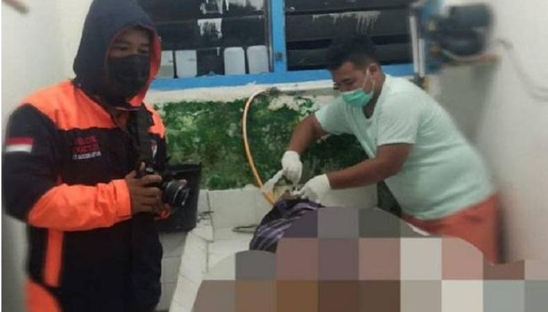 Mayat Laki-Laki Ditemukan Bersimbah Darah Depan Rumah Dinas Wakil Ketua DPRD Karo