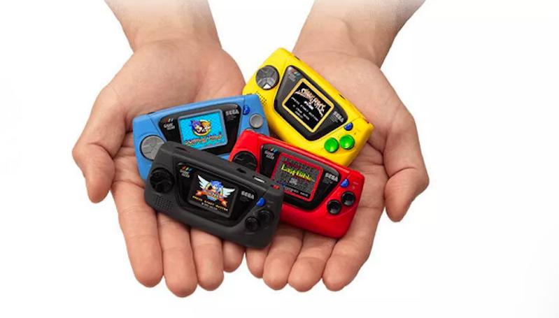Sega Game Gear Micro, Gaming Handhelds Retro dengan Layar 1,15 Inci