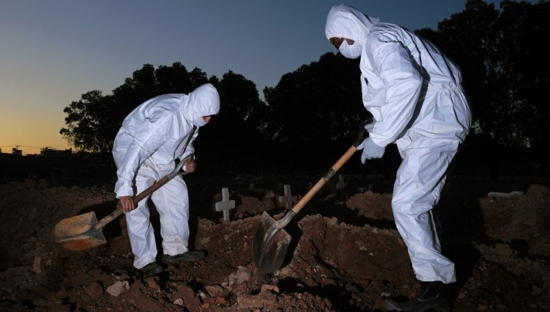 5 Hari Beruturut-turut, Kematian akibat Covid di Brasil Lebih dari 1.000 Jiwa Per Hari