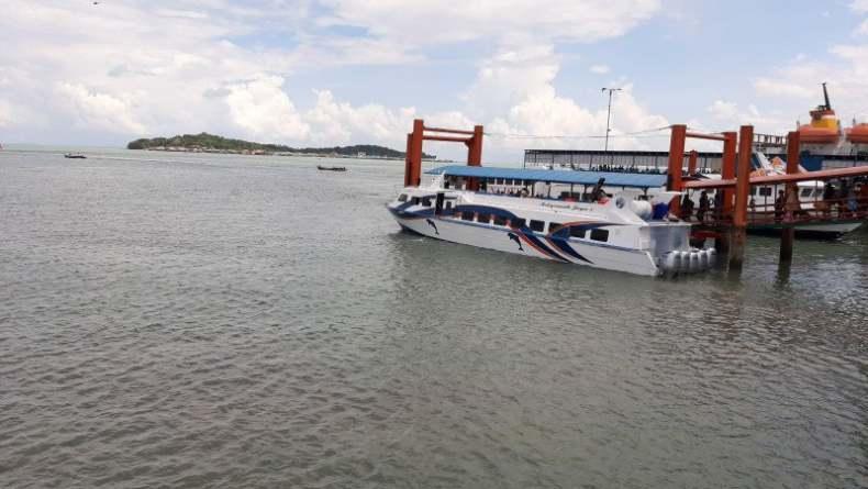 Terhenti karena Covid-19, Kapal Penumpang di Tanjungpinang Kembali Beroperasi