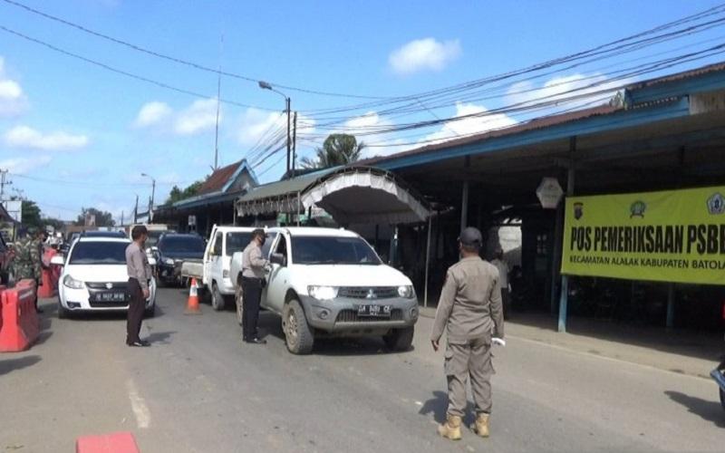 Penjagaan di Batola Diperketat, Warga Luar Daerah Dilarang Masuk