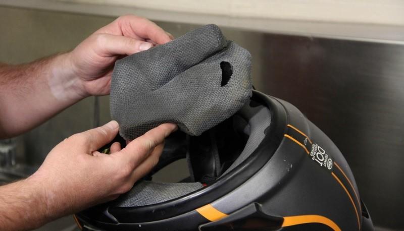 Menjaga Helm agar Tidak Terpapar Virus, Ini yang Harus Diperhatikan