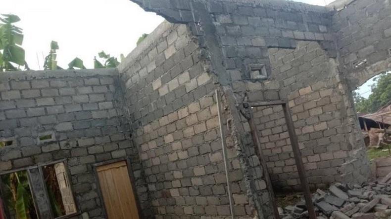 13 Rumah di Halmahera Utara Terdampak Gempa, 3 di Antaranya Rusak Berat