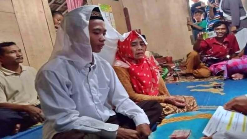 Viral Pemuda di OKI Nikahi Nenek Berusia 65 Tahun, Begini Faktanya