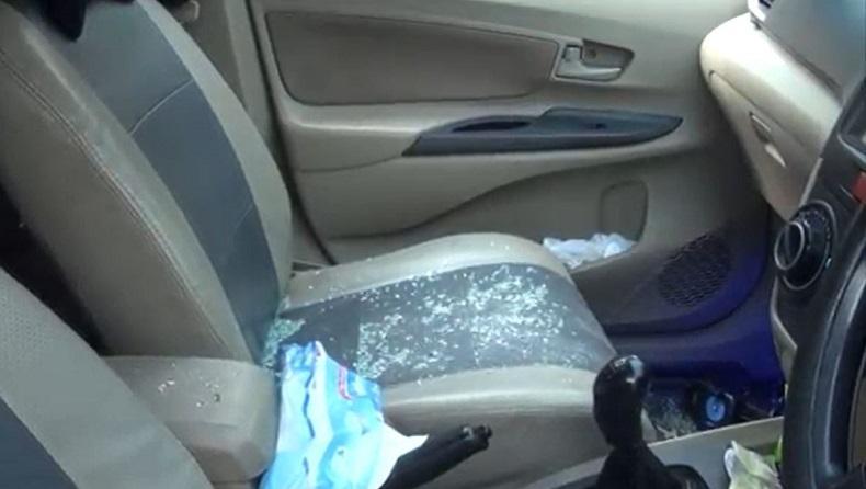 Begal Pecah Kaca Mobil Beraksi di Mojokerto, Rp259 Juta Raib