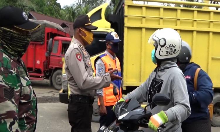 New Normal, Penerapan Pos Batas Sumbar dan Riau Sesuai Protokol Kesehatan
