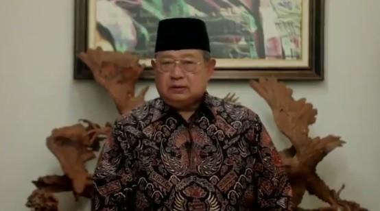 SBY Sebut Belum Ada Tanda-tanda Covid-19 Akan Berakhir