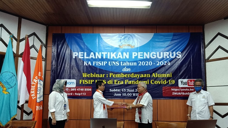 FISIP UNS Optimalkan Jejaring Alumni untuk Perkuat Kualitas Keilmuan