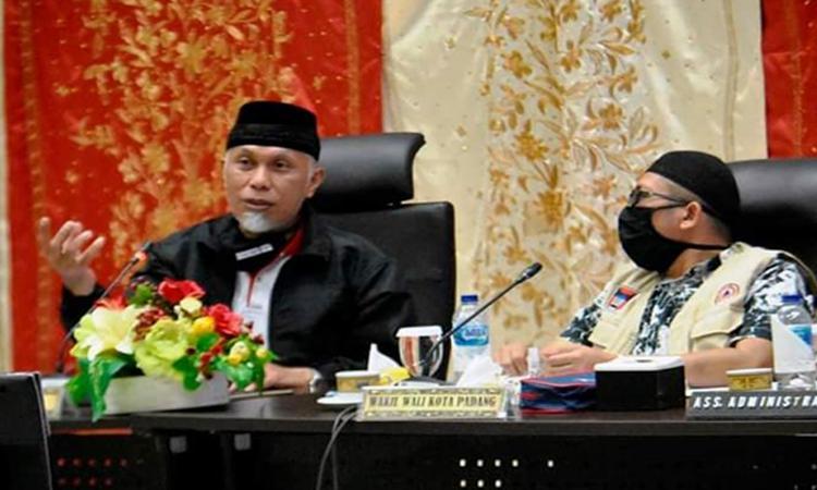 Wali Kota Padang Dikabarkan Positif Covid-19, Pemkot: Tidak Benar, Pak Wali Justru Sehat
