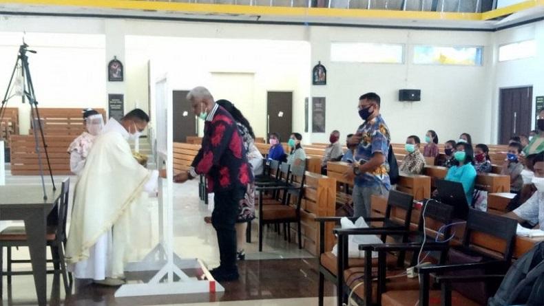 Jangan Ada Klaster Baru, Rumah Ibadah di Jayapura Wajib Terapkan Protokol Kesehatan