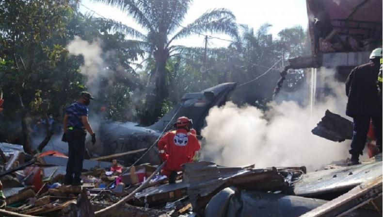 Pesawat Tempur Jatuh di Kampar Riau, Kadispenau: Pilot Berhasil Melontarkan Diri dan Selamat