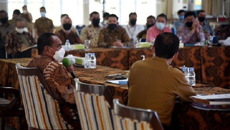 Edy Rahmayadi Kumpulkan Pengusaha Sumut, Bahas Bantuan untuk UMKM di Danau Toba