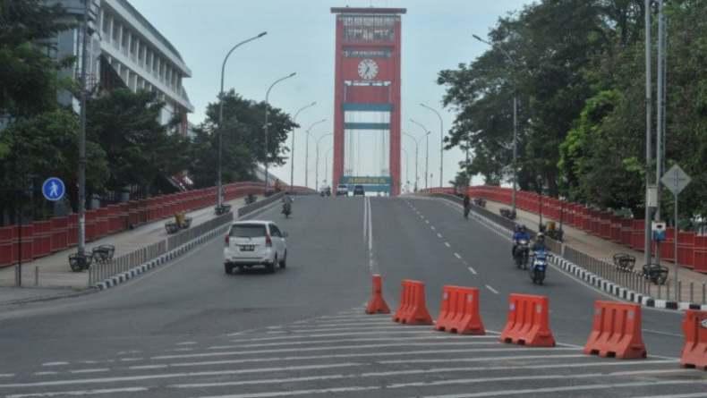 Kasus Covid-19 Masih Tinggi, Palembang Jadi Satu-satunya Zona Merah di Sumsel