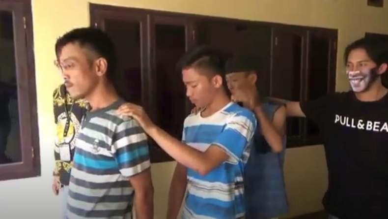 Polisi Tangkap Begal Modus Pura-Pura Bantu Dorong Motor di Palembang