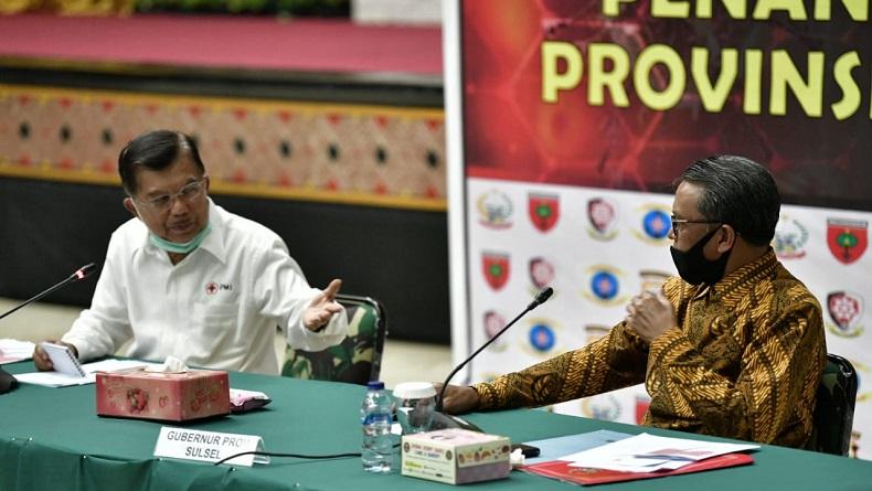 Pesan JK ke Warga Makassar: Jangan Anggap Enteng Covid-19