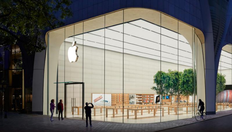 Kasus Covid-19 Meningkat, 11 Apple Store di Amerika Ditutup Sementara