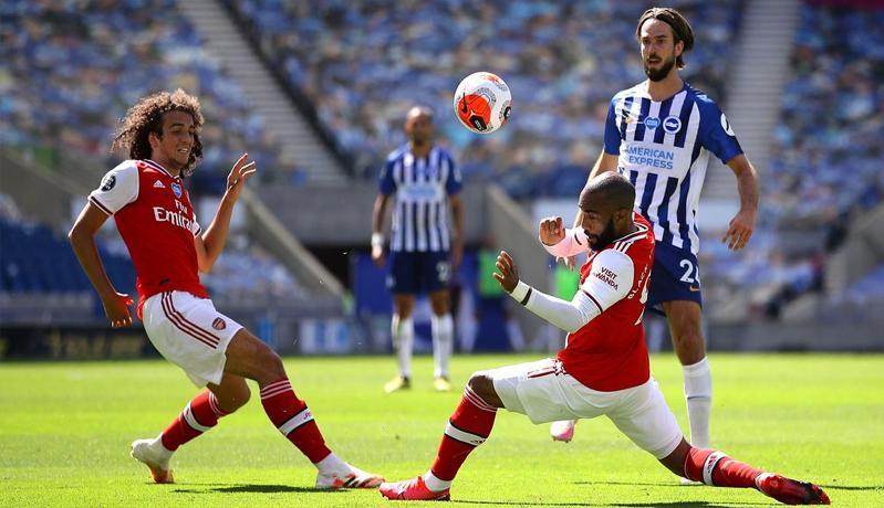 Cetak Gol Lebih Dulu, Arsenal Justru Tumbang di Markas Brighton