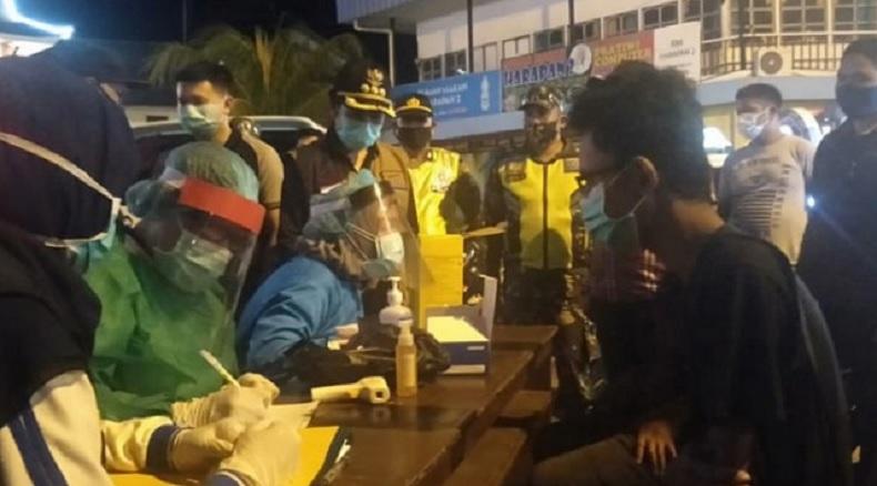 Rapid Test Dadakan di Singkawang, 132 Orang dari Tempat Keramaian Nonreaktif