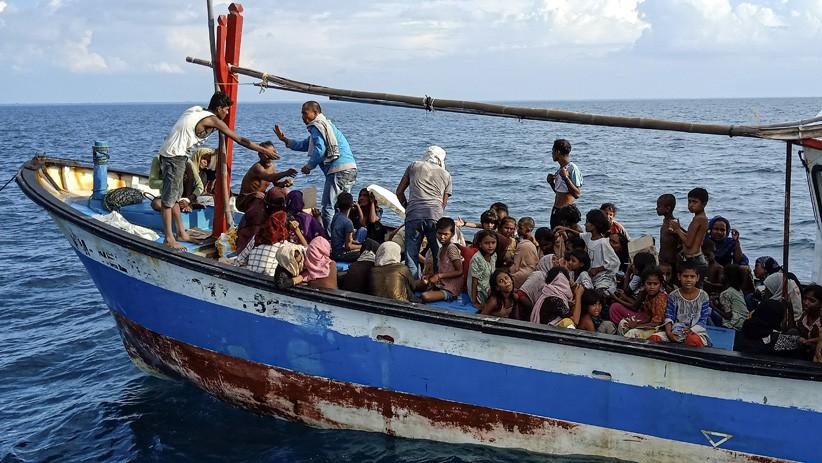 24 Orang Rohingya Diduga Tenggelam di Perairan Malaysia