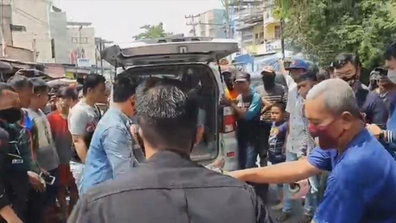 Gugup saat Melawan Arus Lalu Lintas, Pengendara Motor Tewas Digilas Truk di Medan