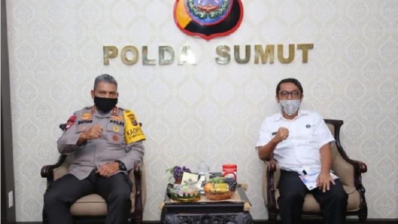 Polda dan BNNP Komitmen Bersama Basmi Peredaran Narkotika di Sumut