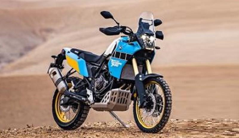 Yamaha Rilis Motor Adventure Berkelir Biru
