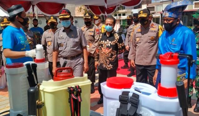 Cegah Penyebaran Corona, Polda Kepri Bentuk 10 Kampung Tangguh Nusantara