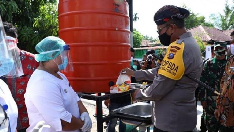 Redam Covid-19, Warga Deliserdang Dirikan Kampung Paten di Desa Punden Rejo