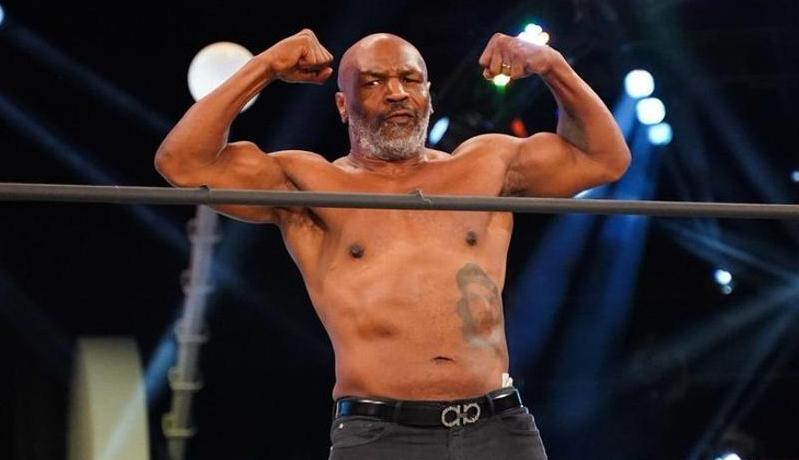 Sadis! Pukulan Maut Mike Tyson Bikin Gigi Rekan Sparing Rontok