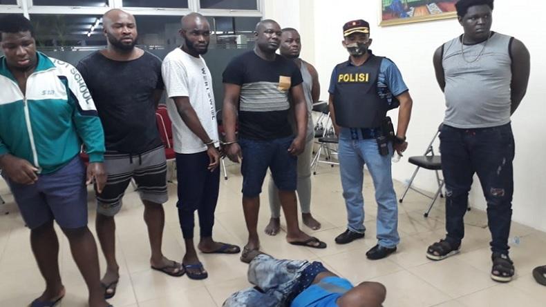 Polisi Selidiki Hubungan Wna Nigeria Pengeroyok Anggota Cyber