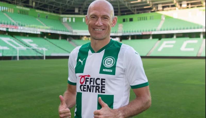 Demi Klub Masa Kecil, Arjen Robben Kembali dari Pensiun