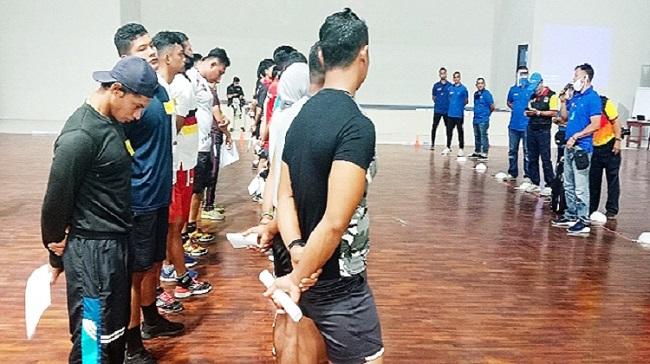 KONI Sumbar Tes Fisik 142 Atlet yang Lolos ke PON XX 2020 di Papua