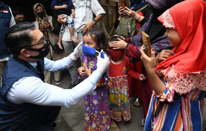 Ridwan Kamil ke Orang Tua: Banyak Anak-Anak Tidak Pakai Masker saat Kegiatan
