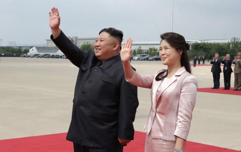 Foto Istri Kim Jong Un Direkayasa, Korut Murka