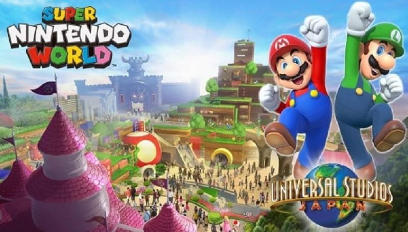 Pembukaan Super Nintendo World di Osaka Ditunda