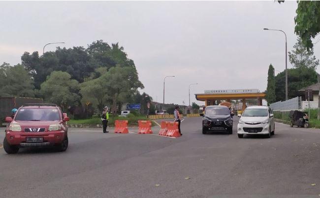 Arus Kendaraan Masuk ke Kota Bandung Meningkat saat AKB
