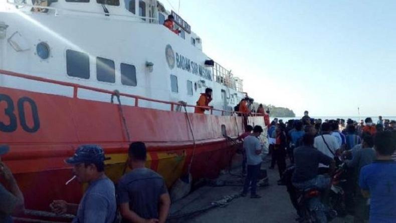 Basarnas Hentikan Pencarian 13 Nelayan yang Hilang di Perairan Nias Selatan