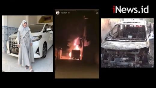 Dibakar, Mobil Via Vallen Terancam Tak Bisa Klaim Asuransi