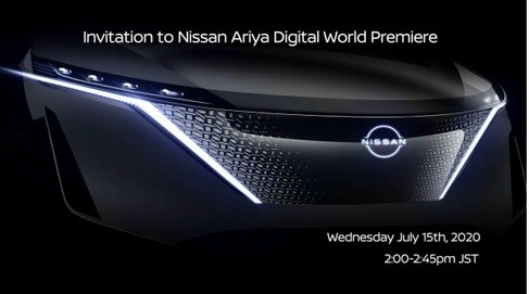Nissan Siapkan Crossover Listrik Ariya Pertengahan Juli 2020