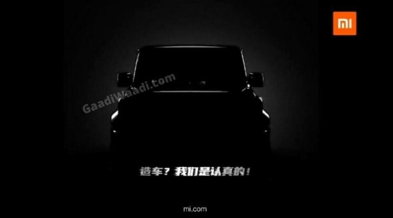 Xiaomi Rambah Pasar Otomotif Rilis Teaser Mobil SUV