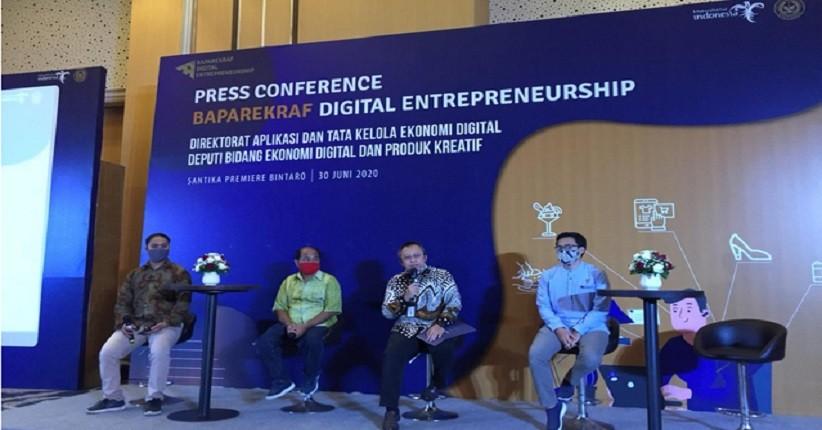 New Normal, Baparekraf Ajak Pelaku UMKM Manfaatkan Digital Entrepreneurship