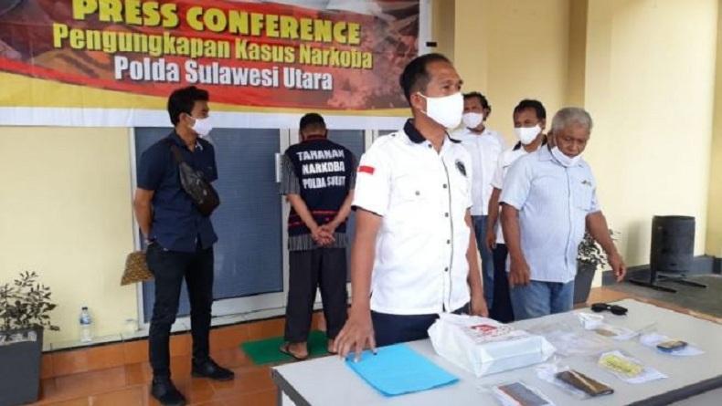 Jadi Tersangka Kasus Narkoba, Anggota DPRD Bolmut Minta Maaf